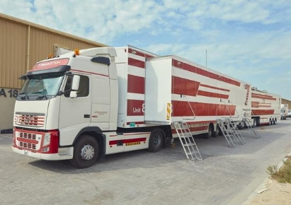 7 production to roll out middle east first 4k ob truck